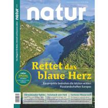 natur 10/2019: Rettet das blaue Herz Europas