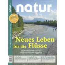 natur DIGITAL Ausgabe 08/2020: Neues Leben für die Flüsse