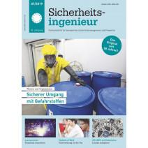 Sicherheitsingenieur DIGITAL 07/2019: sicherer Umgang mit Gefahrstoffen
